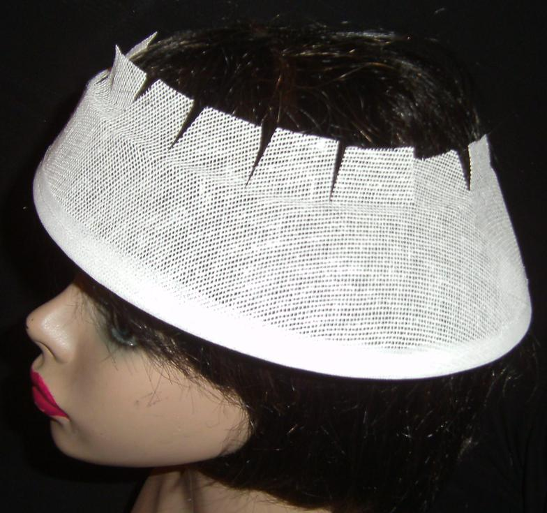 Buckram hat frames by Ka\'ys Art of Millinery